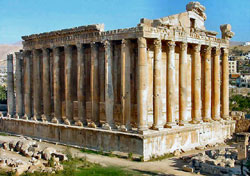 The Roman Temple of Bacchus